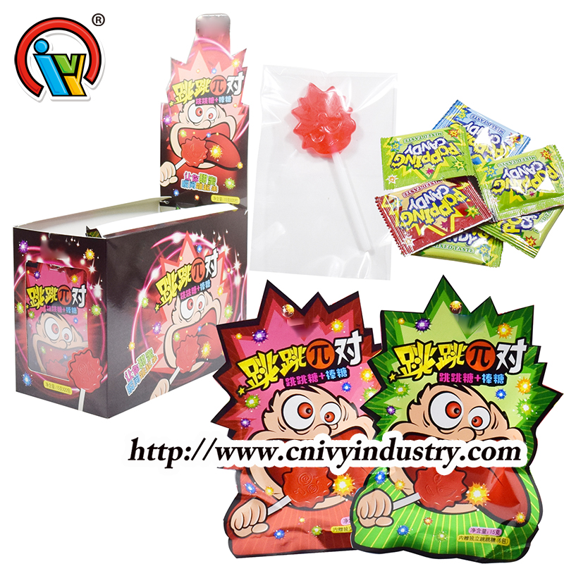lollipop popping candy