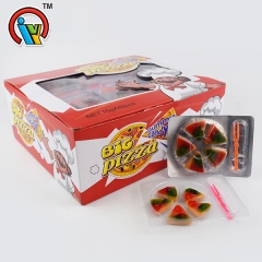 pizza shape chewing gummy candy